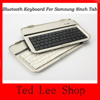 N5100 Aluminium Keyboard ,Ultra Thin Aluminium Shell Bluetooth 3.0 Keyboard case For Samsung Galaxy 8.0 N5100 tablet Freeship