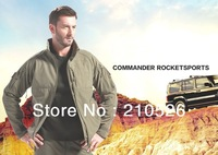 High quality TAD Lurker Sharkskin Soft Shell Outdoor Waterproof Windproof Sport Military Tactical commander Jacket Army Clothing