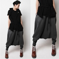 Free shipping! Hot fashion Trend men's clothing pants loose harem pants casual pants