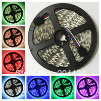 50M 10 rolls 5M/roll  300leds 5050 SMD RGB LED Flexible Lamp Strip 60led/m NP
