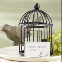Hot Selling  Hexagonal Iron Birdcage Candle Holders Rural Candlestick Black Withe