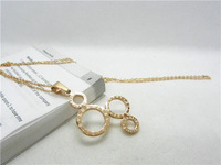 18k Rose Glod Plated Stainless Steel Jewelry Pendants Free Shipping