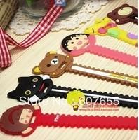 Mini sawtooth bobbin winder cartoon bear hub momoko bobbin winder mix  10pcs/lot free shipping