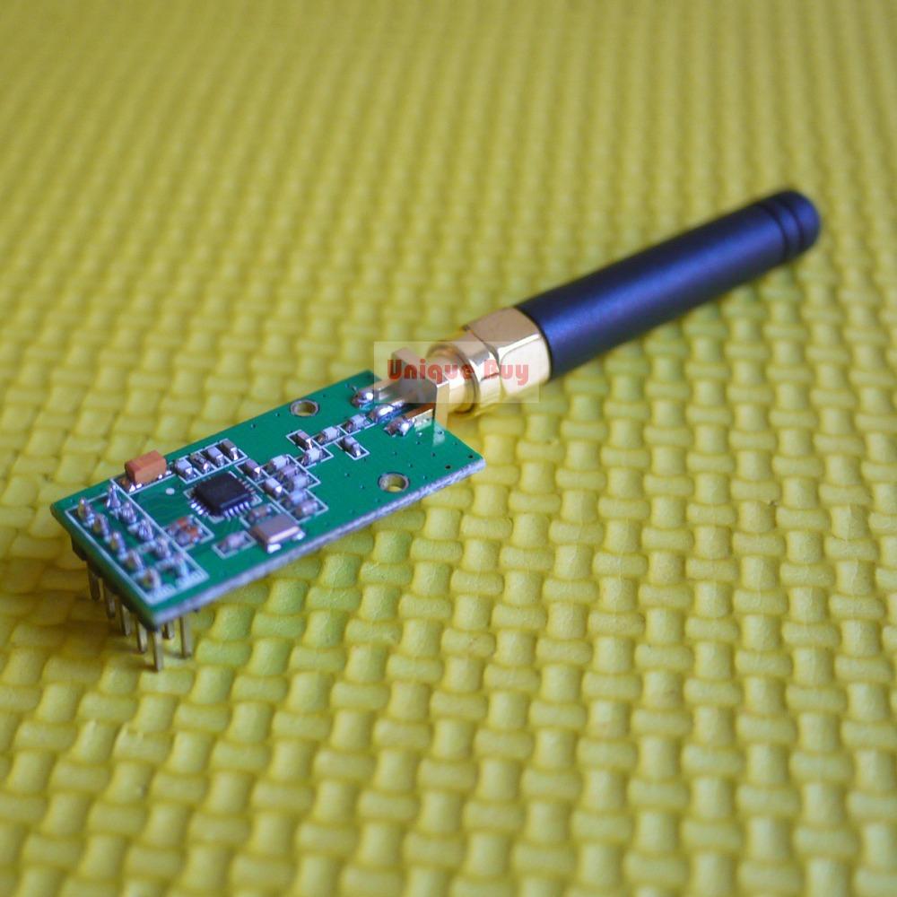 2PCS/LOT 433MHz Wireless RF Transceiver Module CC1101 CC1100 Remote Control Robot(China (Mainland))
