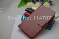 New Arrival! Universal 3.5/4.0/4.3/4.8/5.2/5.5 inch leather case for iphone/sangsung/HTC free shipping