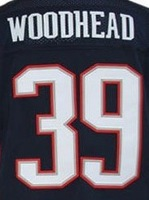 Free Shipping #39 Danny Woodhead Men's Elite Football Jersey,Embroidery and Sewing Logos,Size M--3XL ,Accept Mix Order