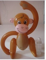 5pcs/lot  free shipping fahion inflatable big long arm monkey children toy