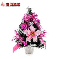 Christmas decoration 30cm pink white christmas tree decoration christmas bonsai 160g