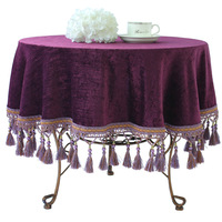 Customize , restaurant , solid color tablecloth