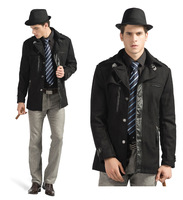 Men Winter Brief  Wool & Blends Coat Wool Coat Good Quality  M L XL XXL 6620