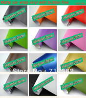 RETAIL SELL Free shipping 1.52*0.6m high quality PVC matte vinyl car sticker with Air bubble free
