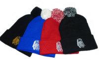 Skull hat tyga last kings beanie hat pom pom beanies hip hop winter knitted hats for men and women