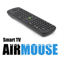 Free China Post Airmail Gyroscope Mini Fly Air Mouse RC11 2.4GHz wireless Keyboard for google android Mini PC TV Palyer box