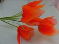 Free Shipping Silk flowers tulips