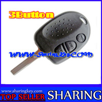 3 Button Remote Key Case for Chevrolet Holden 25Piece/lot