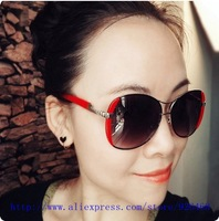 2013 Free shipping  9032 unisex vintage new style metal sunglasses