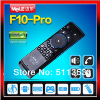 Mele F10 Pro Fly Air Mouse Keyboard Remote Control with Earphone & Micphone 2.4GHz for Android TV Box/IPTV/Motion Sensing Games