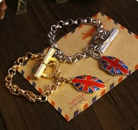 Free ship Fashion fashion shield bracelet 1471