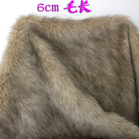 "Khaki, SHAGGY FAUX FUR FABRIC (LONG PILE FUR), costums, cosplay, fur coat, fur collar 36""X60"" SOLD BY THE YARD, FREE SHIPPING"