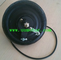 High speed electric scooter motor 8inch gearless 250w 40km/h