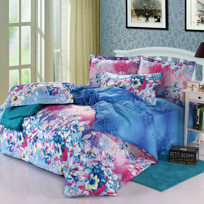 ocean pillow cover bed queen hotel duvet cover(China (Mainland))