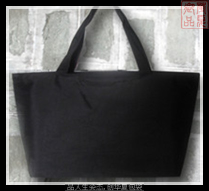 Preserved diy bag blank horizontal bag canvas bag plain bag(China (Mainland))