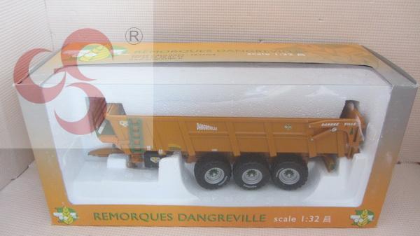 Remorques danger ville alloy tractors hang bottle planker agricultural vehicle model(China (Mainland))