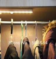 4x 10 Led Human body PIR Motion sensor detector Light lamp indoor home cabinet drawer Closet wardrobe lighting, Free shipping