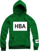 Hot Men Hoodies Winter And Autumn Hba Hoodie Big Size Sweatshirt Fashion 5 Color Women And Men Hoodies Free Shipping LLY11-21