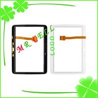 100% Guarantee Original Digitizer For Samsung Galaxy Tab 3 10.1 P5200 Touch Screen White black free shipping