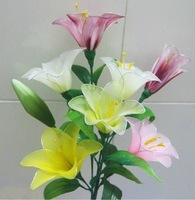 Free Shipping DIY Lily flowers