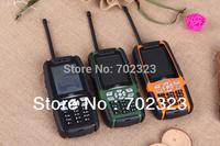2.4'' L8 L9 IP67 Dual Sim TV TTP CAMERA FM RADIO BLUETOOTH 3800mah long standby Real Waterproof phone Shockproof Dustproof