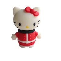 pen drive cartoon rose hello kitty 4gb/8gb/16gb/32gb Christmas gift Kitty bulk usb flash drive flash memory stick pendrive mini