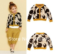 new girl girls children kid kids 100% cotton deer elephant knit knitted cardigan sweater coat coats jacket jackets for girls