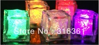 fashion design Ice cube led battery lights, Flashlight;