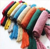 The new autumn and winter wool scarves Korean fashion wholesale selling models in Europe and America free shipping