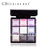 9  Colors Eye Shadow Powder Pigment Colorful Mineral Eyeshadow Makeup Free Shipping