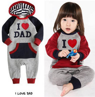 2013 male infant clothes 0-1 year old small children's clothing baby clothes female child baby autumn