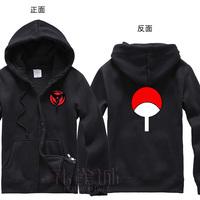Naruto Uchiha sasuke Hooded Sweatshirt Cosplay Hoodie sweater thick coat for winter