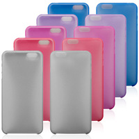 0.3mm Ultra Thin Matte PP Case For iPhone 6, Slim Frosted Transparent Clear Soft Cover Case Skin for iPhone 6 4.7 inch 10pcs/Lot