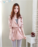 2013 autumn women's quality trench outerwear women's trench autumn overcoat