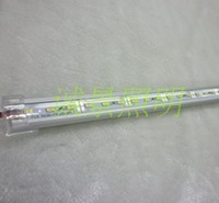 Led hard light strip 5630 5050 smd lamp aluminum tank transparent cover white wall lights