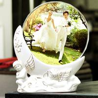 Wedding gift quality marriage decoration crystal photo frame decoration wedding gift fashion