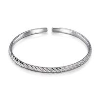 Gold leaf jewelry mantianxing - silver bracelet 999 fine silver bracelet pure silver openings  , Free Shipping