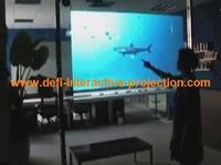 "On sale! DEFI 32"" transparent  Flexible touch foil film for touch kiosk, table etc"