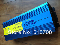 Hot Sell, 2000W Solar Power Inverter, DC 24V to AC 220V Pure Sine Wave Inverter for Off Grid System