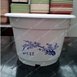 Gardening supplies flower pot plastic flower pot plastic flower pot extra large plastic flower pot circle(China (Mainland))