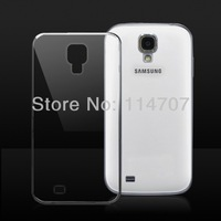 Wholesale Price New arrival transparent clear colorful soft TPU case for Sumsung Galaxy S4 I9500, Free shipping