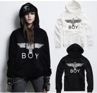 New 2014 Fashion Bigbang boy london eagle with a hoody sweatshirts long-sleeve outerwear jacket HipHop Streetwear Hoodies