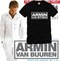 On sale Men Women mc dj armin van buuren hiphop short-sleeve T-shirt  male blouses